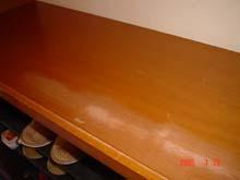 下駄箱の天板
